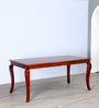 Margaret Dining Table in Honey Oak Finish by Amberville