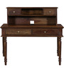Bernal Study & Laptop Table in Provincial Teak Finish by Amberville