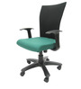 Marina WW Office Ergonomic Chair in Black & Green Colour by Chromecraft