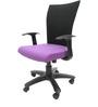 Marina WW Office Ergonomic Chair in Black & Purple Colour by Chromecraft