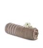 Mark Home Beige Cotton 28 x 59 Bath Towel