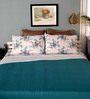 Mark Home Blue Cotton Queen Size Dohar