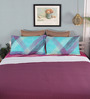 Mark Home Magenta Cotton Queen Size Dohar