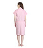 Mark Home Pink Terry Cotton Bath Robe