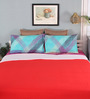Mark Home Red Cotton Queen Size Dohar