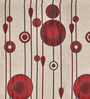 Presto Red Poly Viscose Window Blind