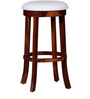 Marquess Bar Stool in Honey Oak Finish by Amberville