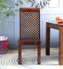 Marquess Dining Chair in Provincial Teak Finish by Amberville