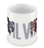 Marvel Civil War-Captain America Chase Multicolour Ceramic 350 ML Mug