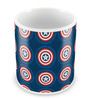 Marvel Civil War Captain Theme Multicolour Ceramic 350 ML Mug