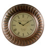 Marwar Stores Multicolour Iron 16 Inch Round Wall Clock