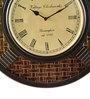 Marwar Stores Multicolour MDF 12 Inch Round Wall Clock