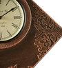 Marwar Stores Multicolour MDF 12 x 2 x 12 Inch Polygon Shaped Wall Clock