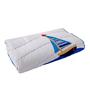 Maspar Blue Cotton Stripes and Checks 79 x 53 Inch Comforter