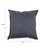 Maspar Blue Cotton 18 x 18 Inch Solid Cushion Covers - Set of 5