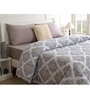 Maspar Grey Fabric Queen Size Quilt