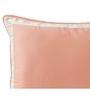 Maspar Peach Cotton bordered Pillow Cover