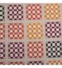Maspar Red 100% Cotton Single Size Bed Sheet - Set of 2