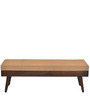 Matrix Dining Bench in Walnut Colour by @home