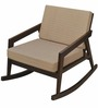 Matrix Rocking Chair in Brown Colour by @home