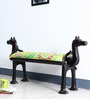 Dvivakud Handcrafted Fabric Bench by Mudramark