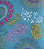 Dirgha Stool in Sky-Blue Colour by Mudramark