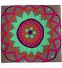 Vama Stool Embroidered Fabric by Mudramark