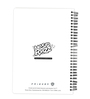 MC SID RAZZ Multicolour Paper Official Friends Pivot Notebook Licensed by Warner Bros USA