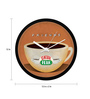 MC SID RAZZ Multicolour Plastic 12 Inch Round Official Friends Central Perk Wall Clock Licensed by Warner Bros USA