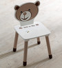McBob Activity Chair in Chocolate & Biege Finish by Mollycoddle