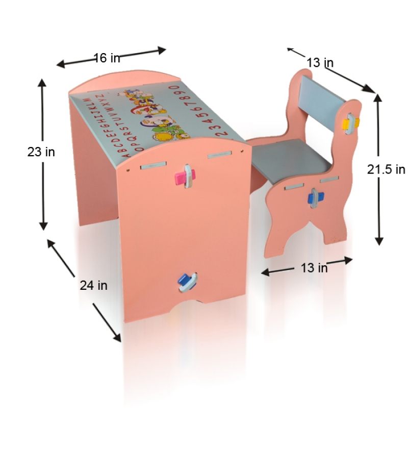 Mdf kids study desk and chair by mudramark online study tables