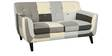 Medellin Two Seater Sofa in Grey Multi Colour by CasaCraft