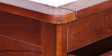 Illinois Queen Bed with storage in Honey Oak finish by Woodsworth