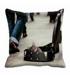 Me Sleep Guitar Case 3D Cushion Cover