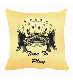 Me Sleep Time To Play Digitally Printed Cushion Cover