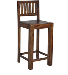 Cartagena Bar Chair In Provincial Teak Finish By Woodsworth