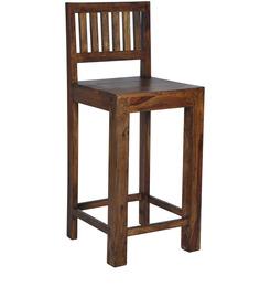 Cartagena Bar Chair In Provincial Teak Finish By Woodsworth