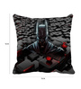 Me Sleep Black Microfibre 16 x 16 Inch Cushion Cover