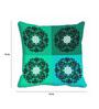 Me Sleep Green Satin 16 x 16 Inch Cushion Cover