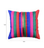 Me Sleep Multicolor Brocade 16 x 16 Inch Cushion Cover