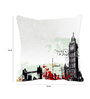 Me Sleep White Satin 16 x 16 Inch Cushion Cover