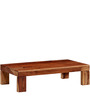 Oakland Solid Wood Coffee Table in Honey Oak Finish by Woodsworth
