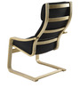 Chair in Black Color by @ Home