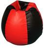 Medium Bean Bag Cover in Red N Black Colour by ARRA