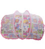 Mee Mee Baby Mattress Set with Mosquito Net & Pillow in Pink