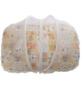Mee Mee Baby Mattress Set with Mosquito Net & Pillow in White