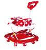 Mee Mee Baby Walker with Parents Push Handle in Red Colour