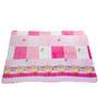 Mee Mee Printed Baby Blanket in Pink & White