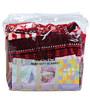 Mee Mee Printed Baby Blanket in Red