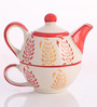Meraki By Sonal Buti Ceramic Tea Pot Set - Set Of 2